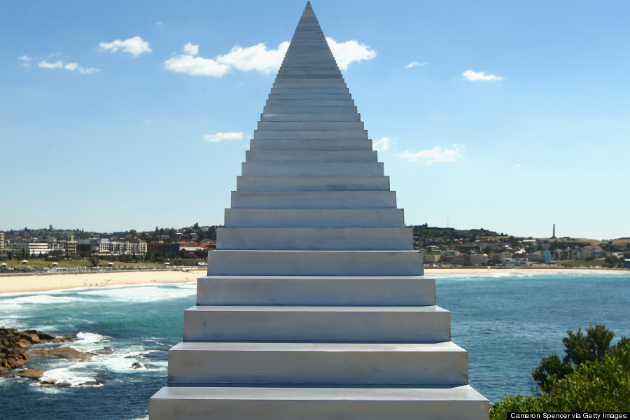 Скульптура «Лестница в небо» (Diminish and Ascend), Сидней, Австралия