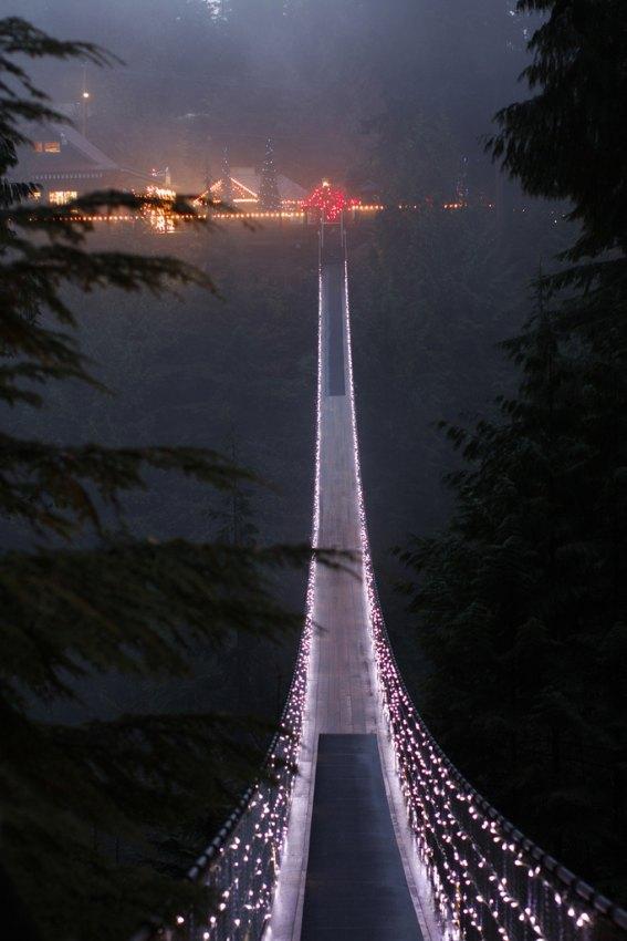Мост капилано в канаде