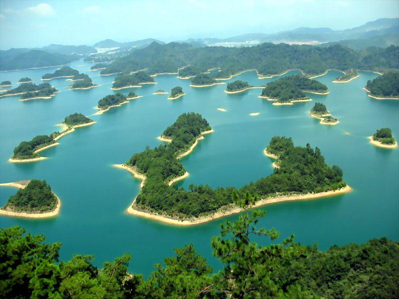 Озеро тысячи островов - Цяньдаоху (Qiandao), Китай