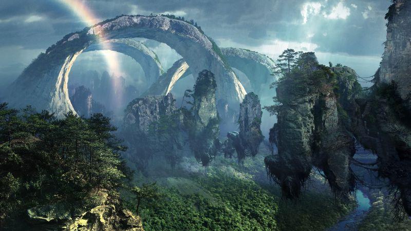 Планета пандора природа картинки