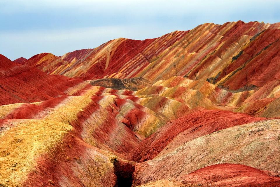 скалы, Китай