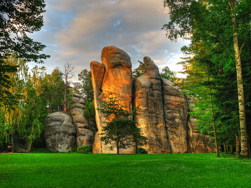 Адршпашско-Теплицкие скалы (Adršpašsko-teplické skály), Чехия