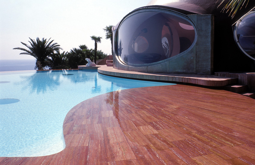 Дворец пузырей - вилла Пьера Кардена в Каннах