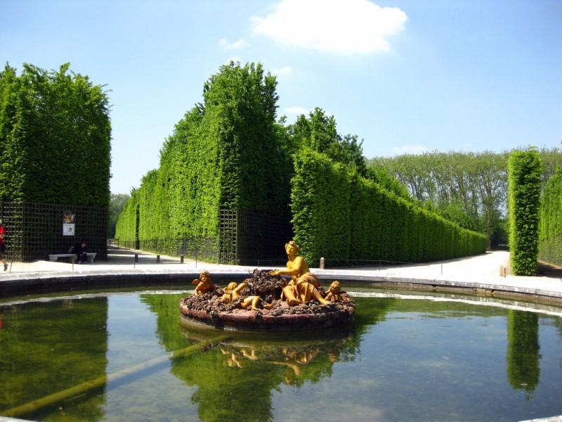 версаль. парк фото