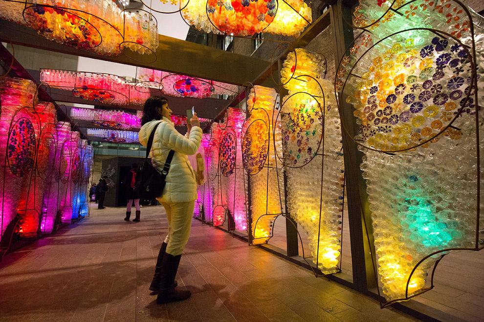 Сказочный арт-фестиваль на улицах Лондона