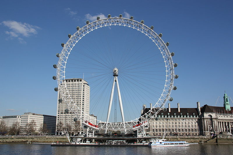 articles on the london eye