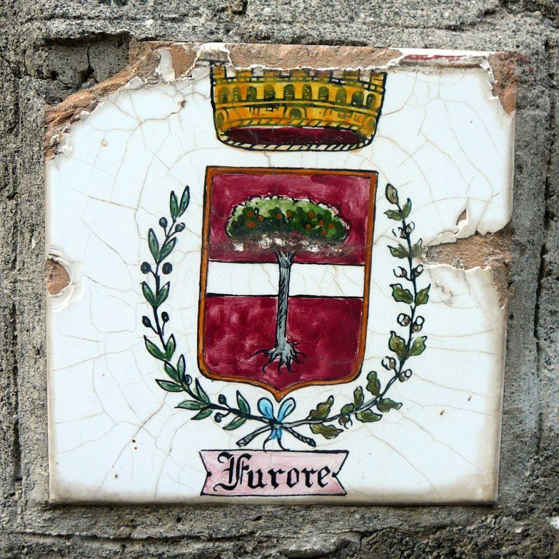 Фуроре, Италия, фьорд, Амальфитанское побережье, герб