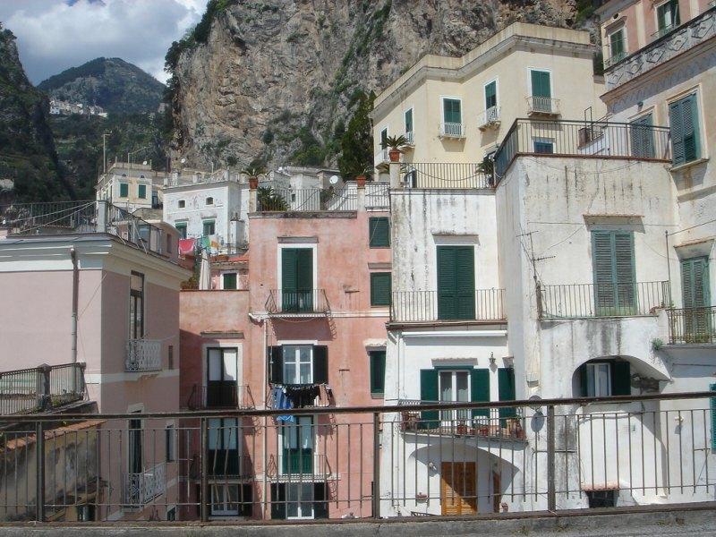 Атрани (Atrani) Кампания, Салерно, Италия