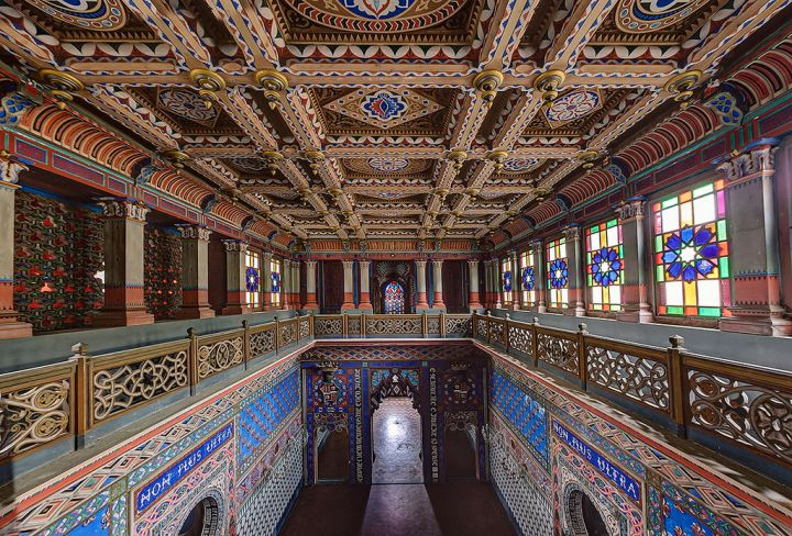 Замок Саммеццано (Castello di Sammezzano), Тоскана, Италия