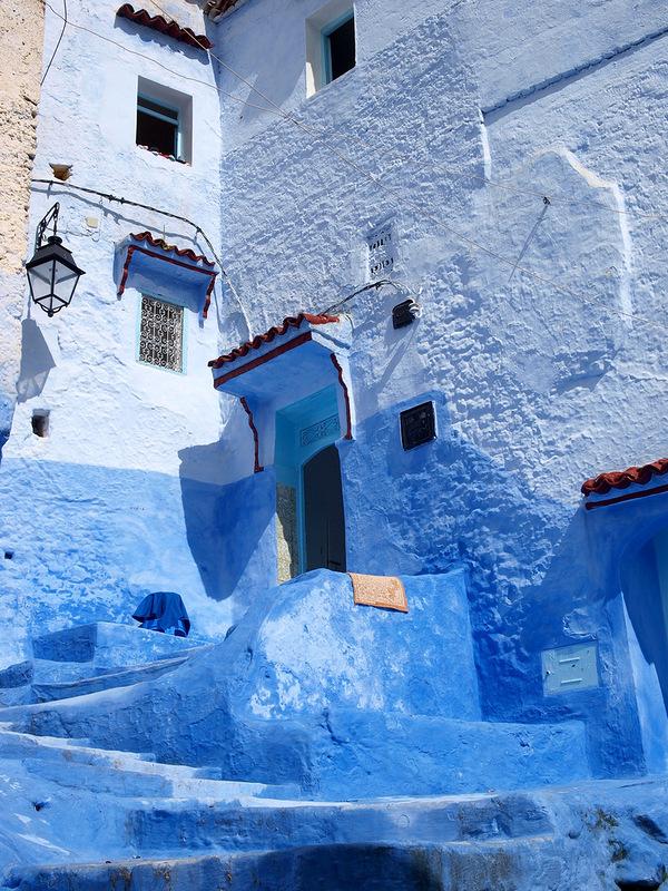 Голубой город Шефшауен, (Chefchaouen), Марокко