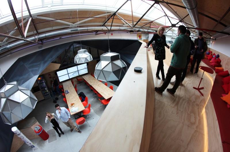 Офис Red Bull в Амстердаме, Нидерланды
