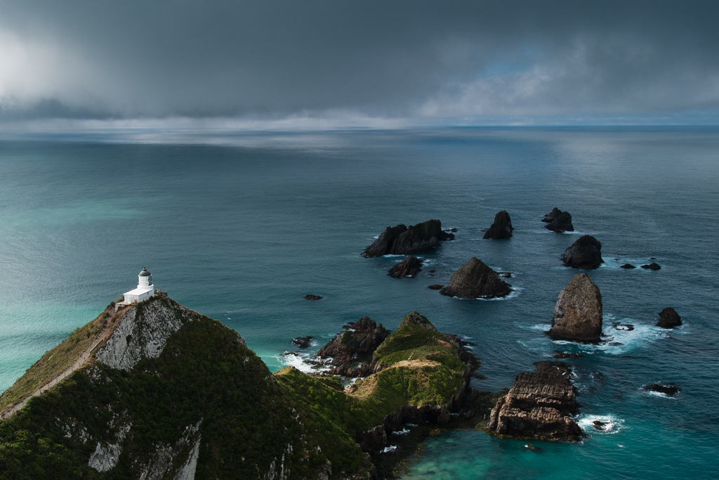 ���� ������ ����� (Nugget Point Lighthouse), ��������� �����, ����� ������, ����� ��������