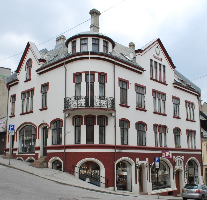 Олесунн (Alesund), Норвегия, фюльке Мёре-ог-Румсдал