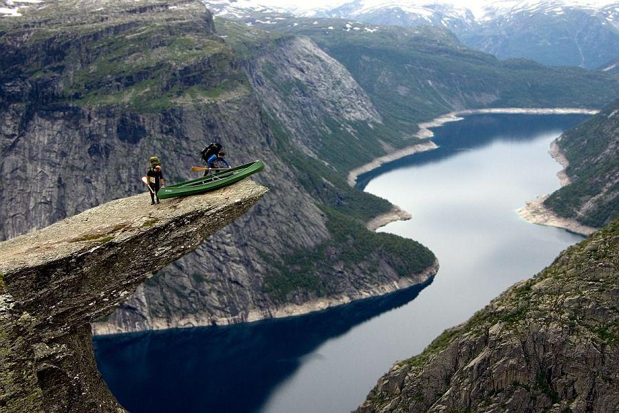 фото норвегия язык тролля