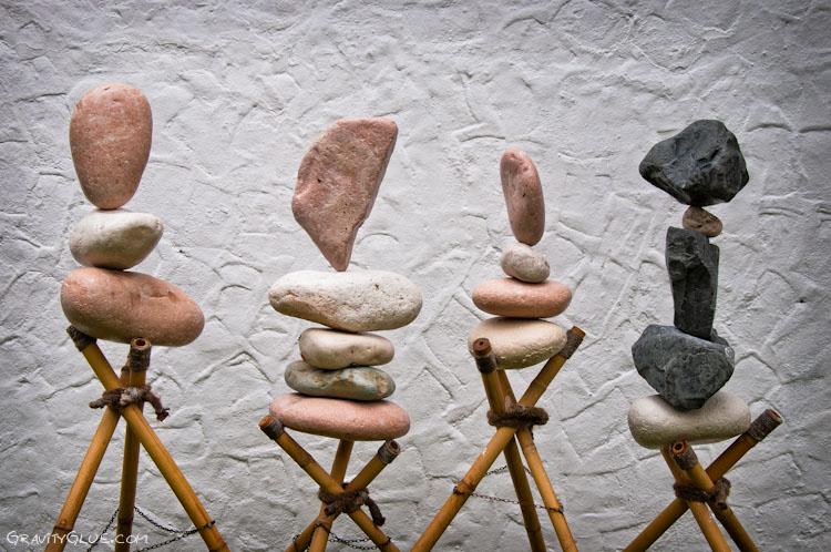 Камни преодолевшие гравитацию, от Майкла Грэба