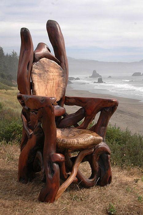 Скульптуры из дерева от Джефро Уитто (Jeffro Uitto)