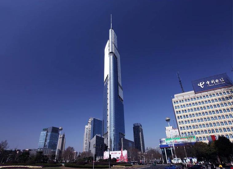 Финансовый центр Наньцзин Гринлэнд» (Башня Цзыфэн)