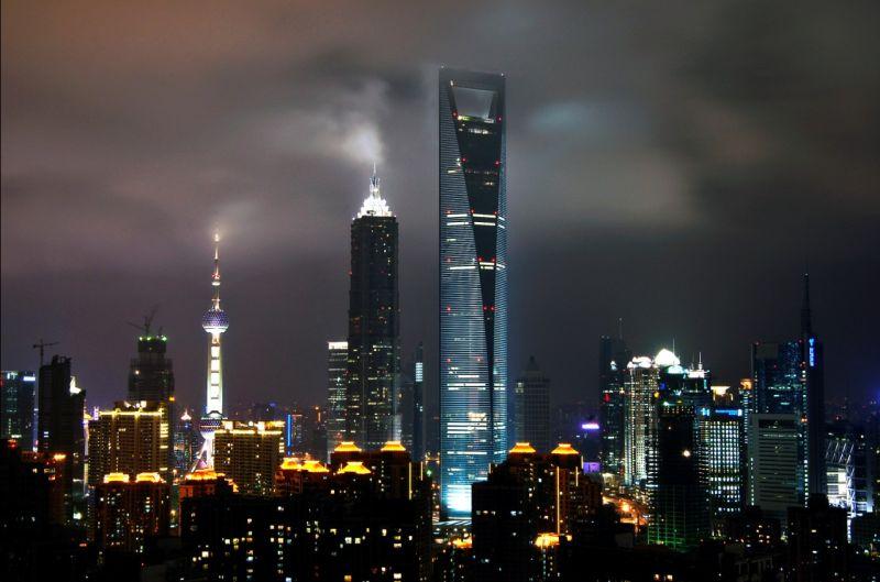 Шанхайский всемирный финансовый центр (Shanghai World Financial Center)