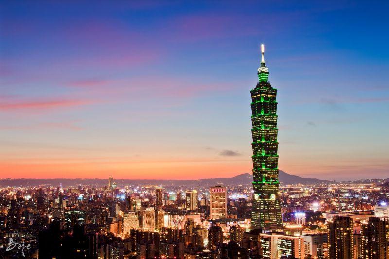 Тайбэй 101 (Taipei 101) - небоскрёб,