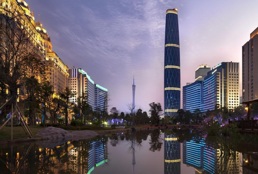 Международный финансовый центр (CTF Finance Centre), небоскрёб
