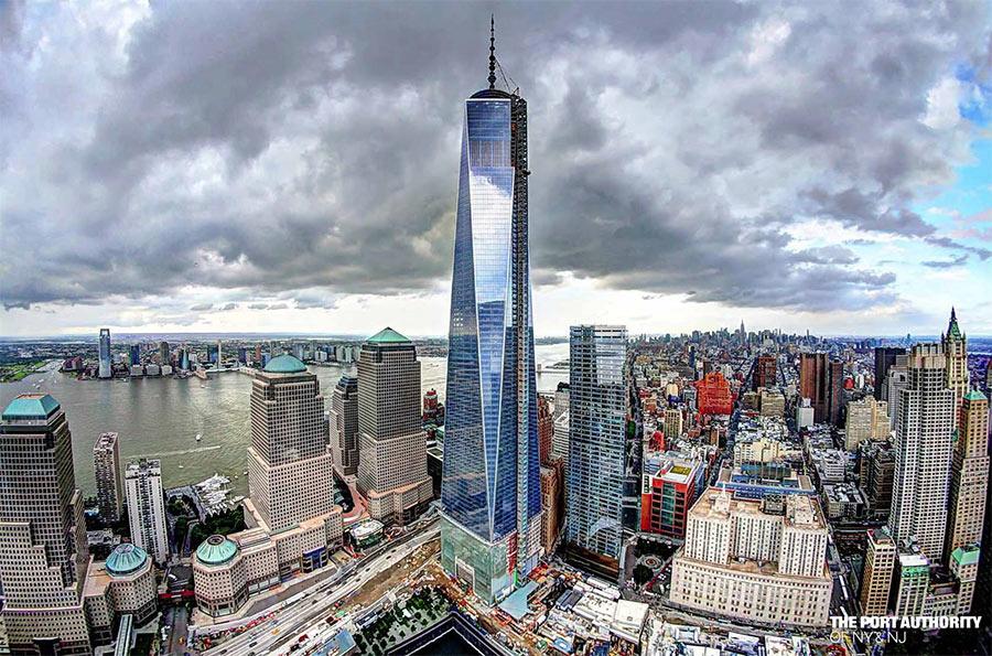 Всемирный торговый центр 1 или Башня Свободы (One World Trade Center), небоскрёб,