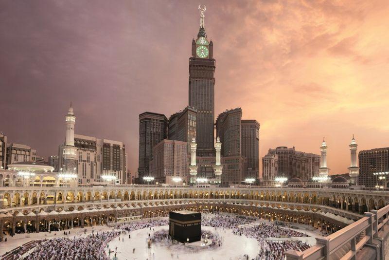 Часовая королевская башня (Makkah Royal Clock Tower Hotel), небоскрёб