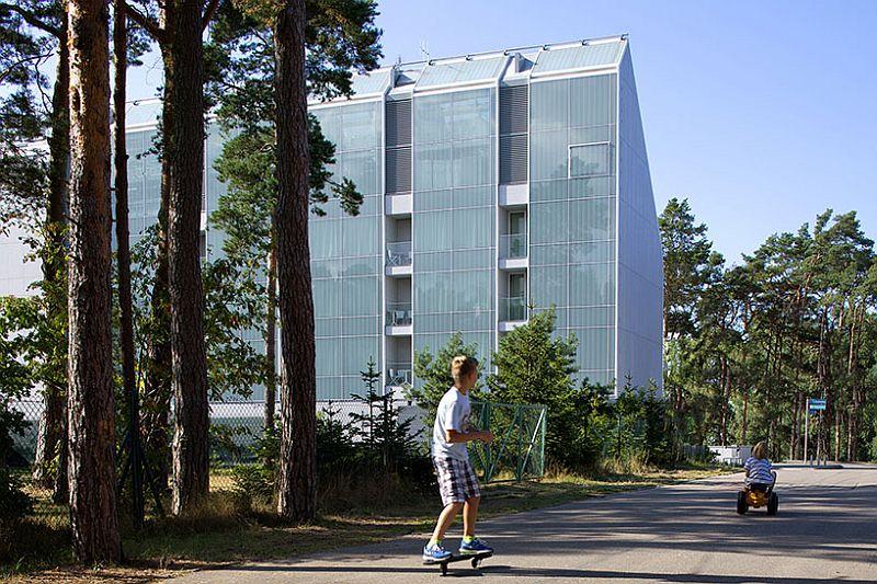 Отель в форме волны Baltic Palace Hotel (Балтийский Дворец), Польша