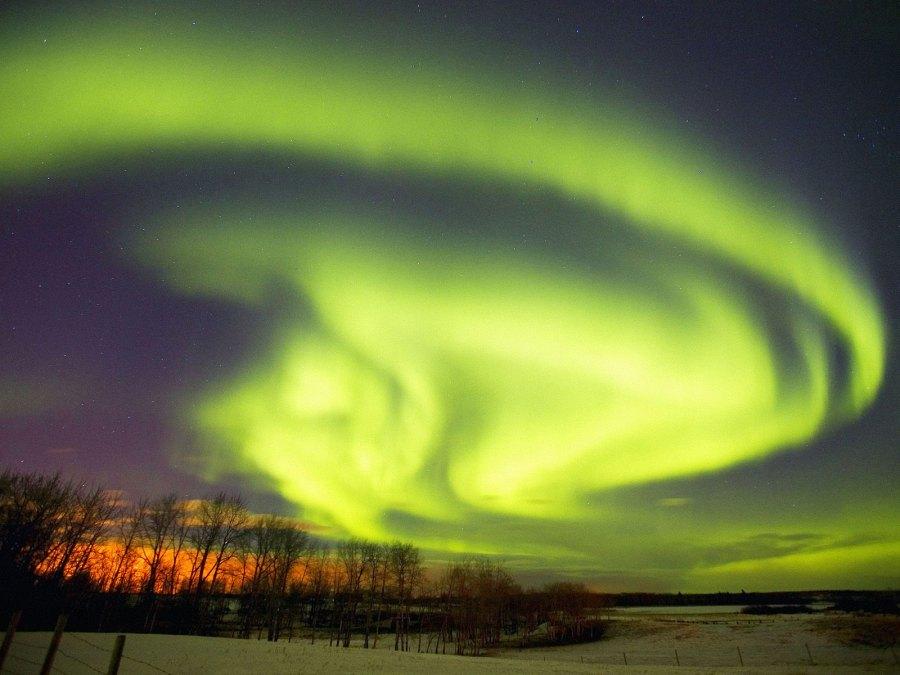 Северное сияние (полярное сияние), aurora borealis