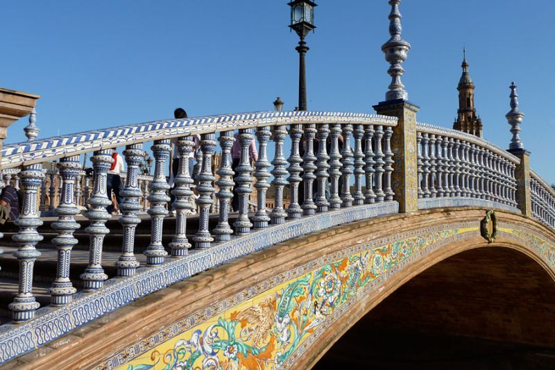 Площадь Испании (Plaza de Espana) - достопримечательность Севильи
