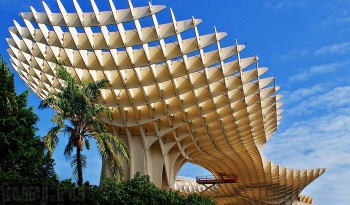 Зонтик Метрополь (Metropol Parasol; исп.,La Encarnacion), Севилья (Испания)