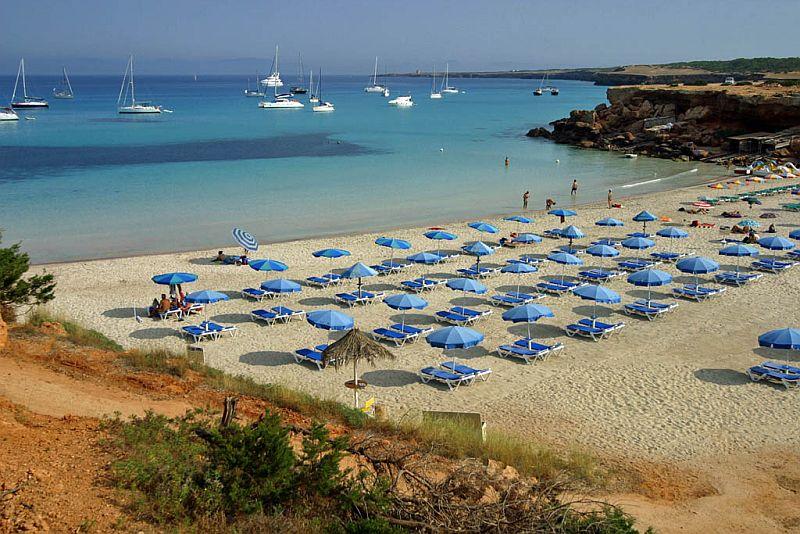 Кала-Саона (Cala Saona), Форментера, Балеарские острова, Испания