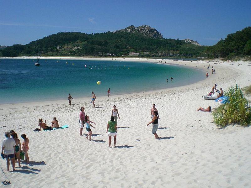 Плайя-де-Родас (Playa de Rodas), остров Сиес, Галисия, Испания