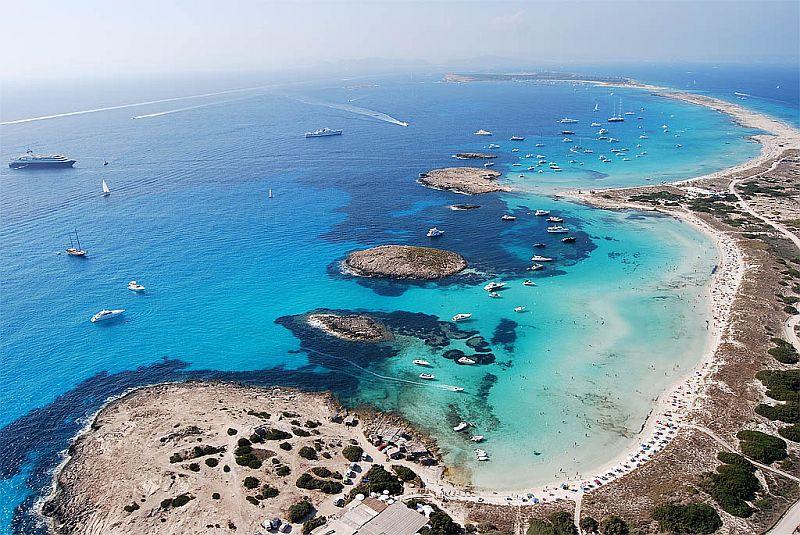 Сес-Ильетас (Ses Illetes), Балеарские острова, Испания