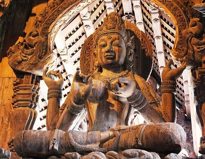Будда, Храм Истины, Таиланд