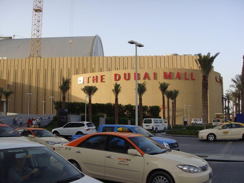 "Огромный аквариум - ""Dubai Mall Aquarium"", Дубай (ОАЭ)"