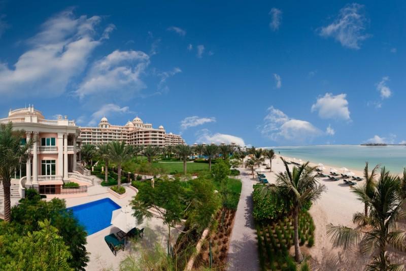 Пальма Джумейра, (Palm Jumeirah), элитный остров, Дубай, ОАЭ
