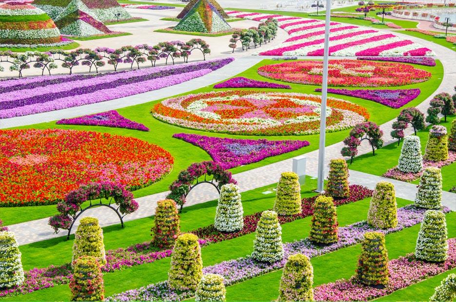 парк цветов фото: