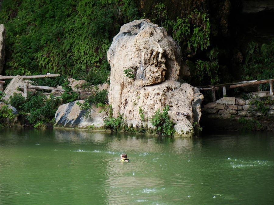 Гамильтон пул hamilton pool озеро водопад