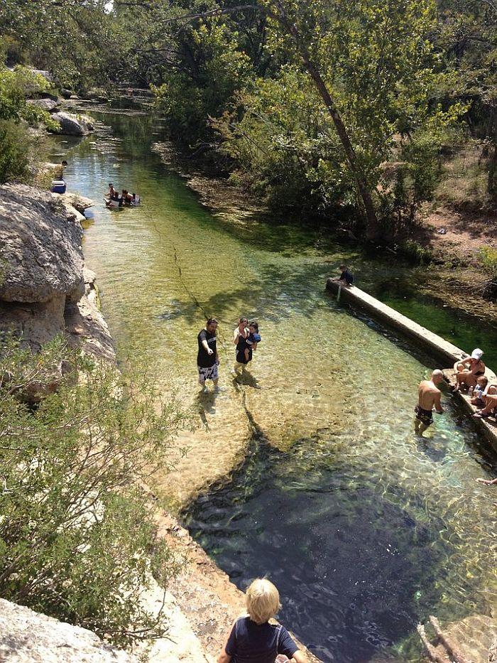 Колодец Иакова в штате Техас (США) - соверши прыжок