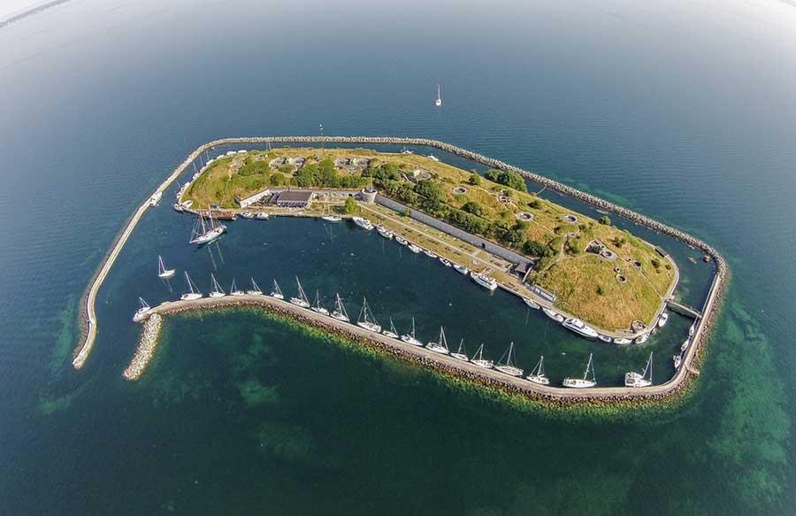 Дания: В Копенгагене создадут плавающие острова