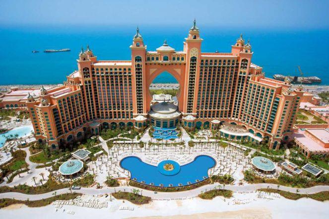 Отель Атлантис в Дубае - сказочный курортный комплекс в ОАЭ