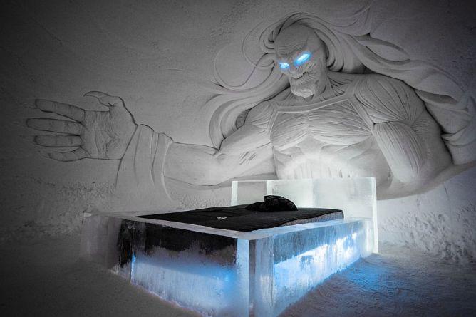В Лапландии открыли ледяной отель в стиле телесериала «Игра престолов», Финляндия